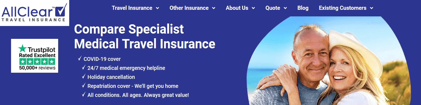 Travel Insurance with Covid Cover