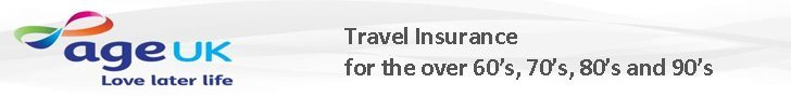 Age UK Travel Insurance for the over 60 70 and 80