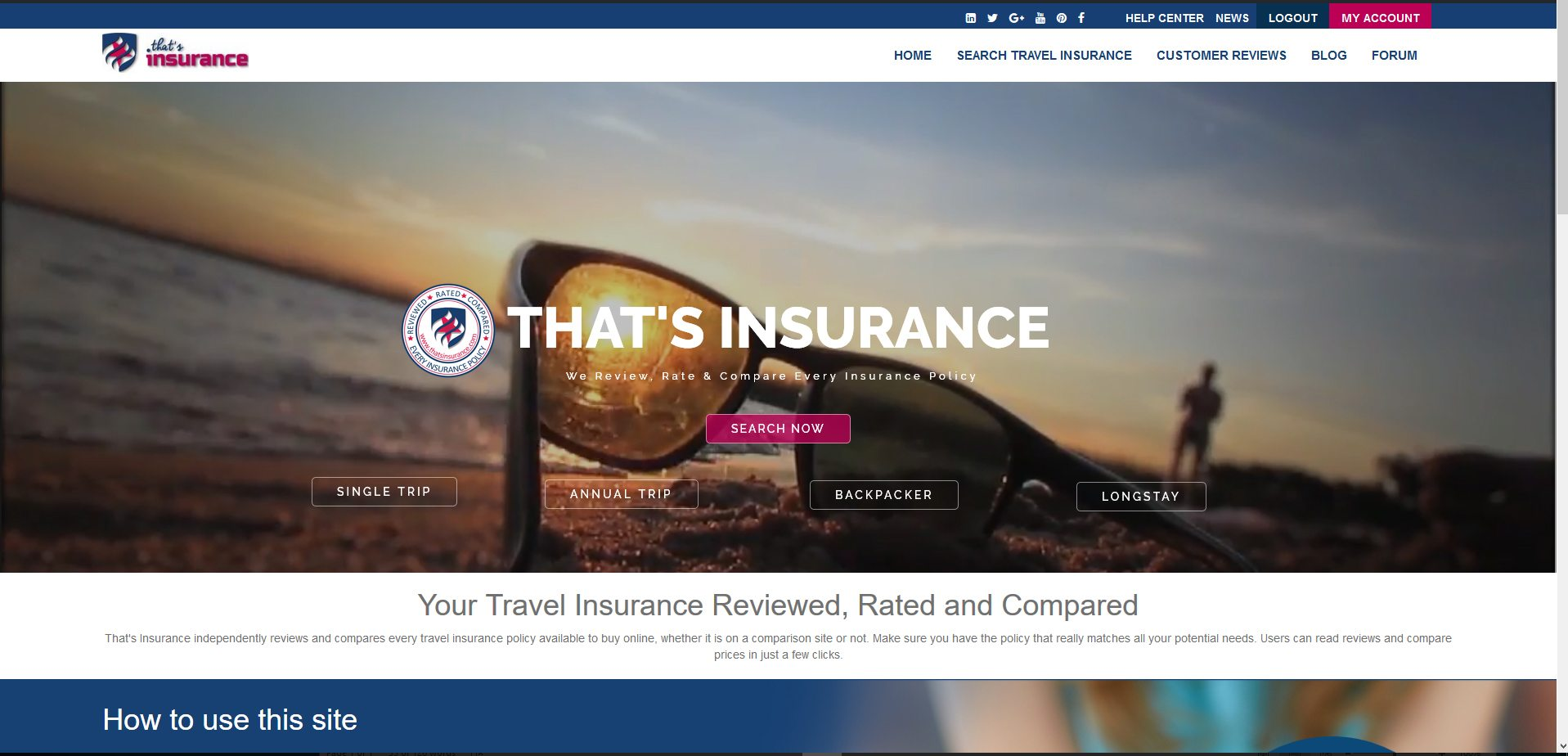 Thats Insurance Travel Insurance Reviews