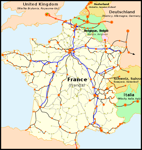 French Rail Network